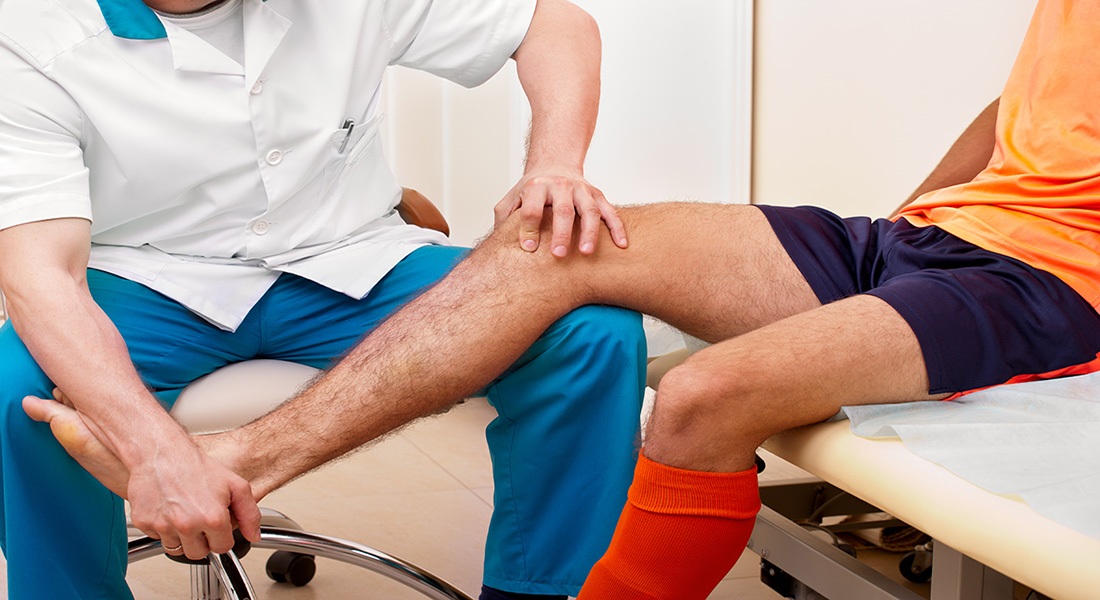 recovering sports injury